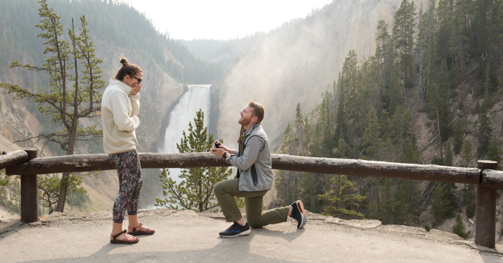 Engagement Moment by Larry Stanley Photography